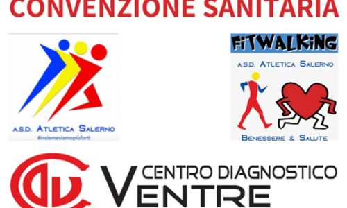 ASD Atletica Salerno: Centro Diagnostico Ventre nuovo partner sanitario